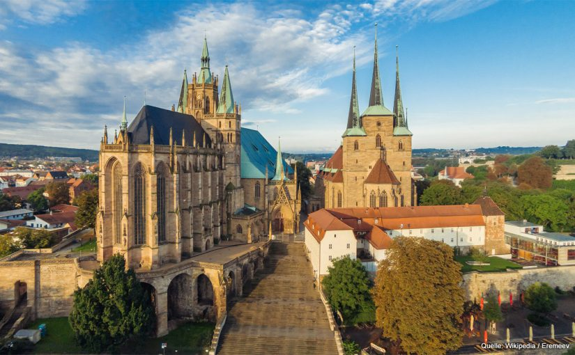 Erfurter Dom. Bild: Wikipedia - Eremeev