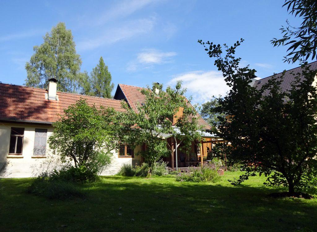 Ferienhaus Thüringen Garten